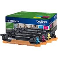 Brother TN-243CMYK Original Toner Cartridge CMYK Pack of 4