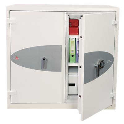 Phoenix Security Fire Safe with Electronic Lock FS1921E 445L 1200 x 1250 x 585 mm White