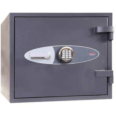 Phoenix Security Safe with Electronic Lock HS1052E 46L 440 x 500 x 430 mm Grey