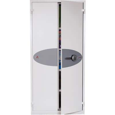 Phoenix Fire & Security Safe with Electronic Lock FS1653E 605L 1950 x 930 x 520 mm White