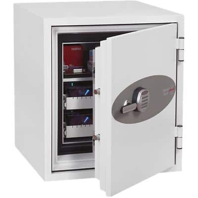 Phoenix Data Safe with Electronic Lock DS2003E 77L 770 x 690 x 720 mm White