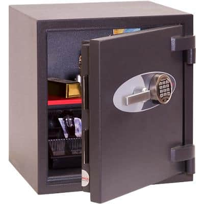 Phoenix Security Safe with Electronic Lock HS3551E 56L 550 x 520 x 500 mm Grey