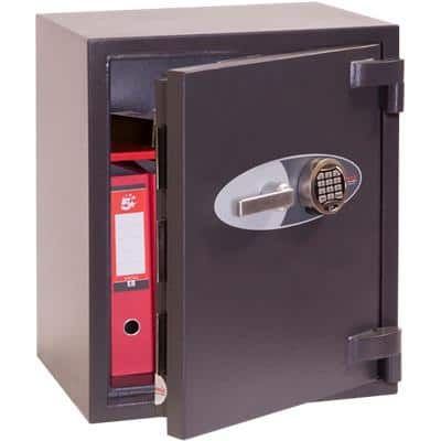 Phoenix Security Safe with Electronic Lock HS3552E 69L 650 x 520 x 500 mm Grey