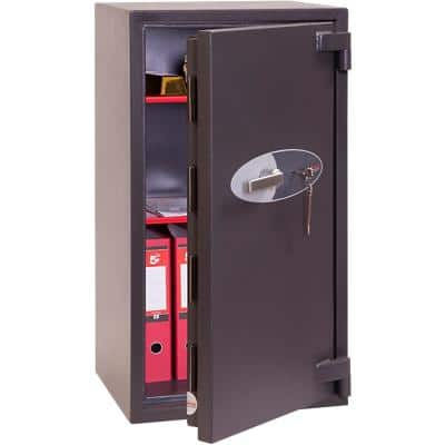 Phoenix Security Safe with Key Lock HS3553K 110L 970 x 520 x 500 mm Grey