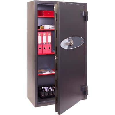 Phoenix Security Safe with Electronic Lock HS2056E 417L 1490 x 860 x 620 mm Grey