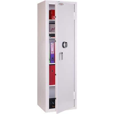 Phoenix Security Safe with Electronic Lock SS1164E 457L 1900 x 570 x 500 mm White