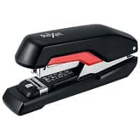 Rexel Supreme Half Strip Stapler 50 Sheets Black, Red