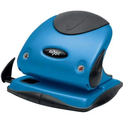 Rexel 2 Hole Punch Choices P225 Blue, Black 25 Sheets
