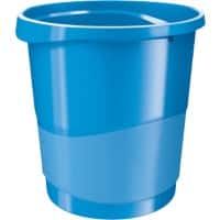 Rexel Waste Bin Choices Blue 14 L Polypropylene 25.8 x 28.5 x 32.2 cm