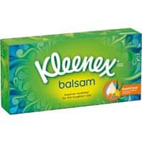 Kleenex Facial Tissue Box Balsam 3 Ply 64 Sheets