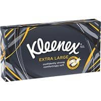 Kleenex Facial Tissues Mansize 2 Ply 90 Sheets