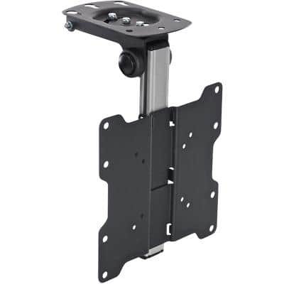 Proper TV Under Cabinet Folding Bracket 200 x 171 x 399mm Black & Silver