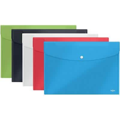 Rexel Document Wallets Choices Assorted 5 Pieces