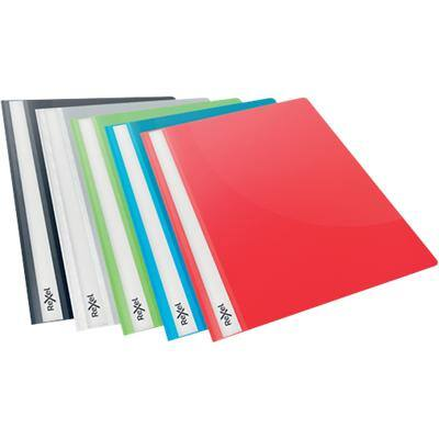 Rexel Choices Report File A4 16 mm Polypropylene Assorted Pack of 25