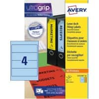 Avery Lever Arch Filing Labels L7171A-20 Assorted 80 labels per pack