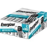 Energizer C Alkaline Batteries Max Plus LR14 1.5V 20 Pieces