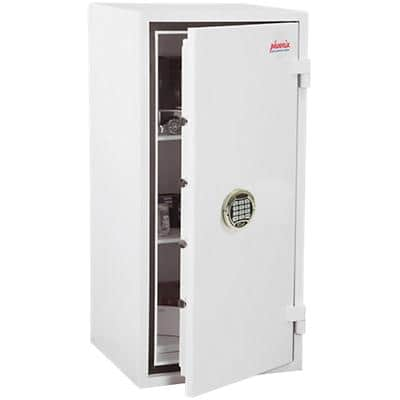 Phoenix Fire & Security Safe with Electronic Lock SS1193E 78L 950 x 440 x 450 mm White