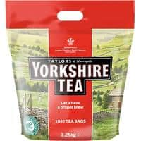 Yorkshire Tea Bags 1040 Pieces