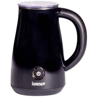 iGENIX Milk Frother and Warmer IG8651 Black