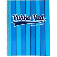 Pukka Pad Jotta Pad Vogue A4 Ruled Blue 3 Pieces of 100 Sheets