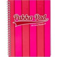 Pukka Pad Jotta Pad Vogue A5 Ruled 8 mm Lines Pink 3 pieces
