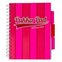 Pukka Pad Project Book Vogue A5 Ruled 8 mm Lines Pink 3 pieces
