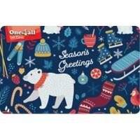 One4all Season Greetings Gift Card £15 Assorted