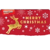 One4all Merry Christmas Gift Card £15 Assorted
