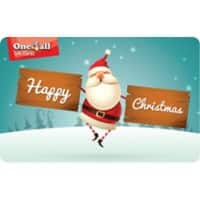 One4all Christmas Gift Card Seasons Greetings £25 Assorted