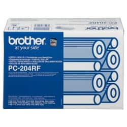 Brother Thermal Transfer Film PC-204RF Black 4 pieces