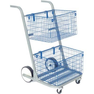 Val-U-Mail Trolley Blue 90.8 x 59.7 x 73.7 cm