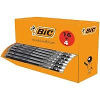 BIC Gel-ocity Retractable Rollerball Pen with Grip Medium 0.4 mm Black Pack of 20
