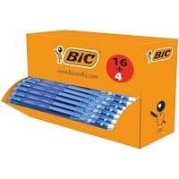 BIC Gel-ocity Retractable Rollerball Pen with Grip Medium 0.4 mm Blue Pack of 20