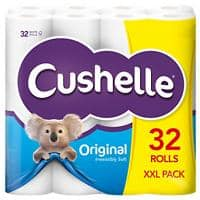 Cushelle Toilet Rolls 2 Ply 32 Rolls of 180 Sheets