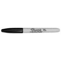 Sharpie Permanent Marker Fine Bullet Black Pack of 24