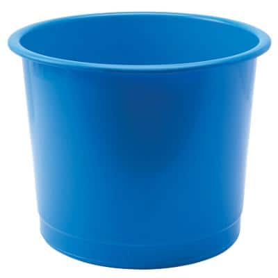 Plastic Waste Bins - Blue