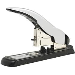 Rexel Heavy Duty Stapler Goliath Heavy Duty Stapler Silver/Black 100 sheets silver