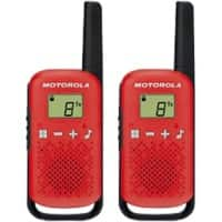 Motorola Walkie Talkie TALKABOUT T42 Red