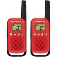 Motorola Talkabout T42 Walkie Talkie Red