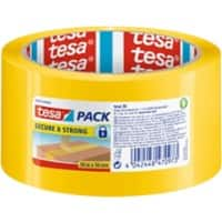 tesapack Packing Tape Security 50 mm x 50 m Yellow