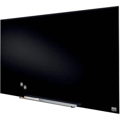 Nobo Glass Board Diamond Glass Board Magnetic Black 993x559mm 99 x 56 cm Black