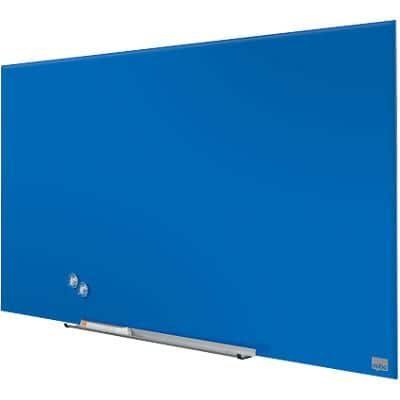 Nobo Wall Mountable Whiteboard Glass 1905188 993 x 22 x 559mm Blue