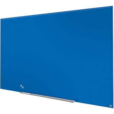 Nobo Wall Mountable Whiteboard Glass 1905190 1883 x 22 x 1059mm Blue