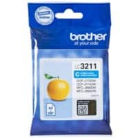 Brother Original Ink Cartridge LC3211C Cyan