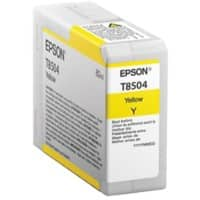 Epson Singlepack Yellow T850400, Original, Pigment-based ink, Epson, - SureColor SC-P800
