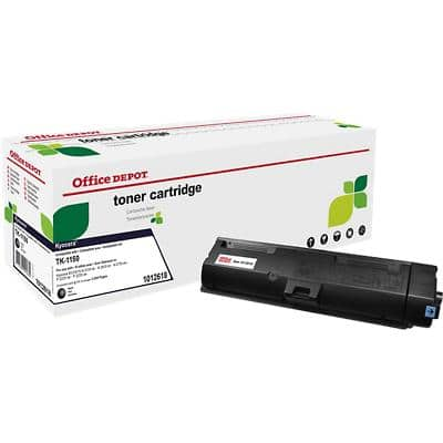 Compatible Office Depot Kyocera Toner Cartridge Black