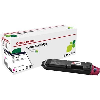 Compatible Office Depot Kyocera TK-5140M Toner Cartridge Magenta