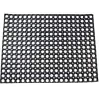 Office Depot Outdoor Doormat Honeycomb Value Black 1,200 x 800 mm