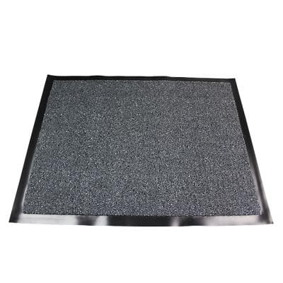 Office Depot Indoor Doormat Value Grey 900 x 600 x 600 mm
