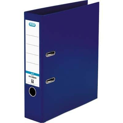 ELBA Lever Arch File 70 mm Polypropylene on Board 2 ring A4 Blue